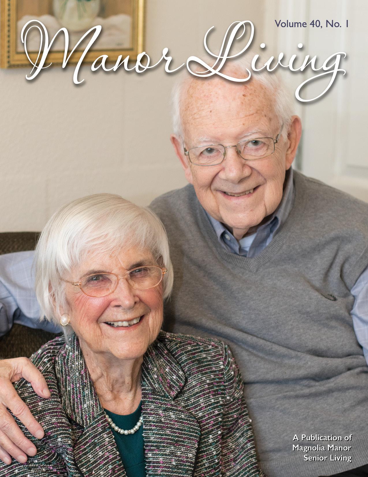 Manor Living Magazine Winter-19 Vol40 No1 COVER