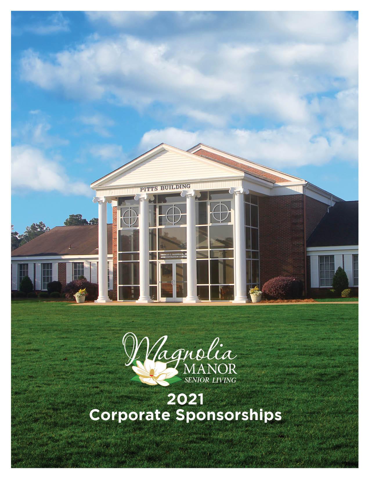 00980 2021 Corporate Sponsor Brochure