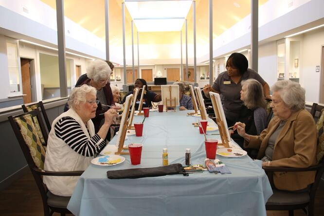 art therapy for seniors