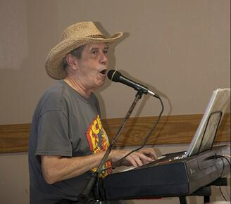 senior singing