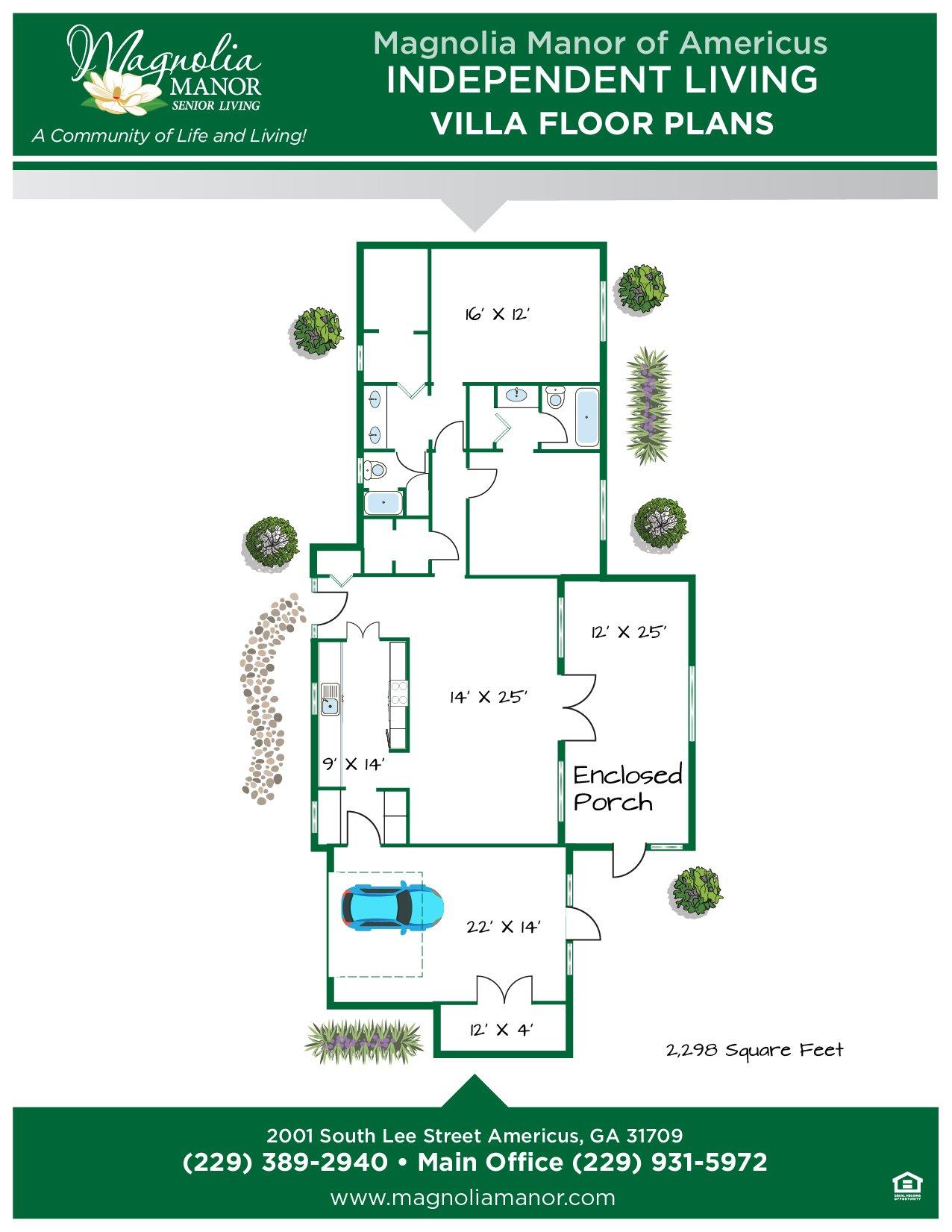 00344 AMERICUS Floor Plan VILLA-01