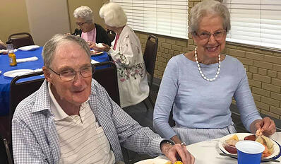 Americus IL residents magnolia manor senior living