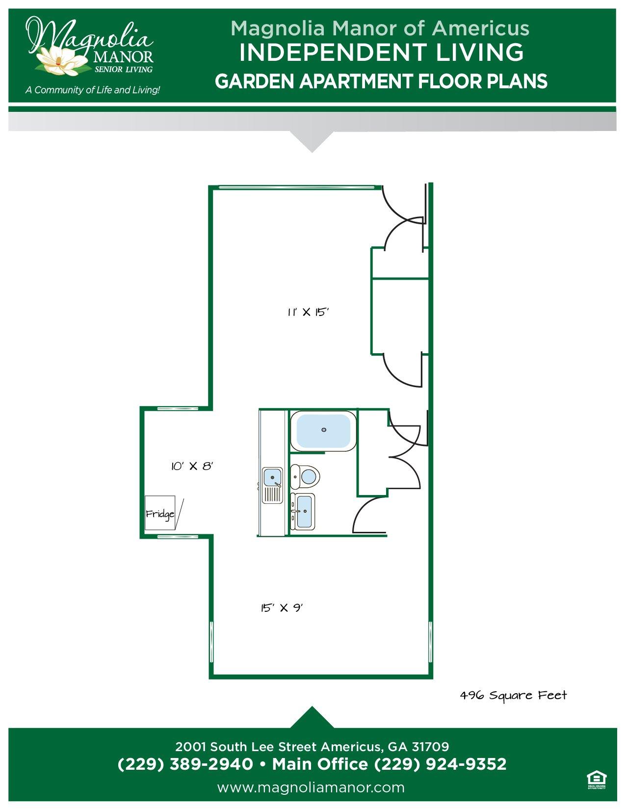 00344 AMERICUS Floor Plan Garden Apart-01