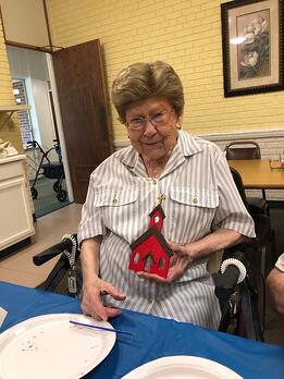 Magnolia Manor Retirement Senior Living Georgia Lucy Tolbert