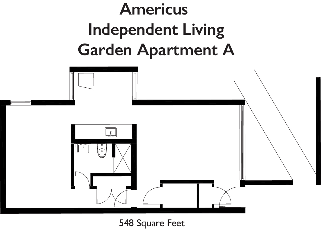 Americus IL Garden Apt A