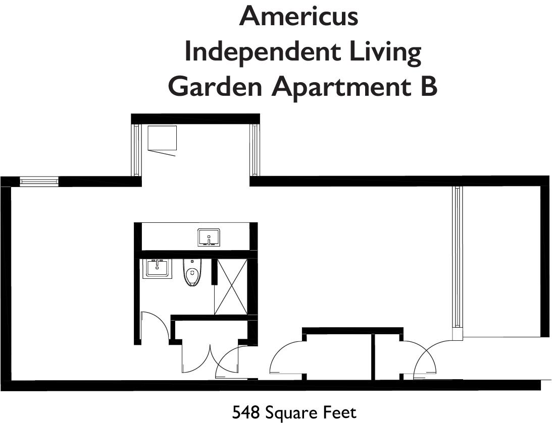 Americus IL Garden Apt B