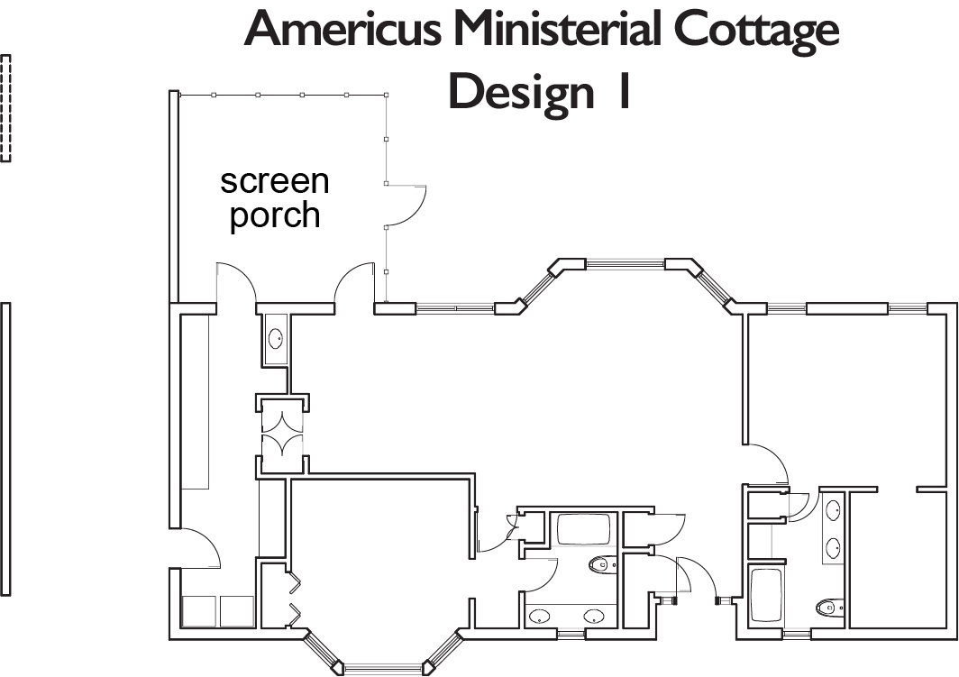 Americus Ministerial Cottage 1