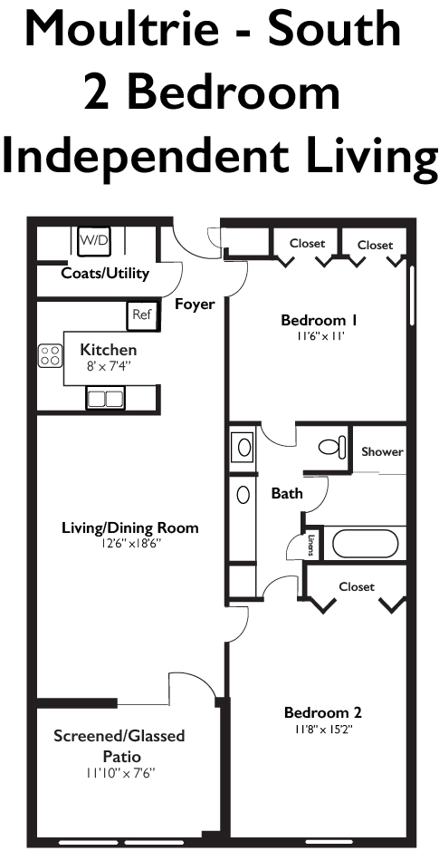 Moultrie South 2 Bedroom Independent Living