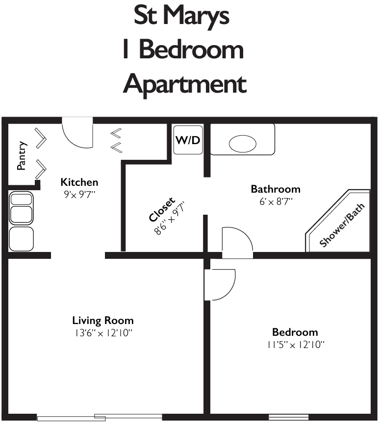 St Marys 1 Bedroom Apartment