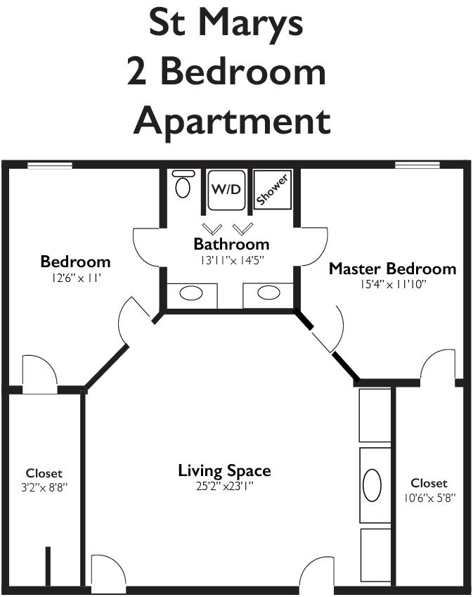 St Marys 2 Bedroom Apartment