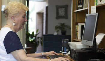 Resident on computer