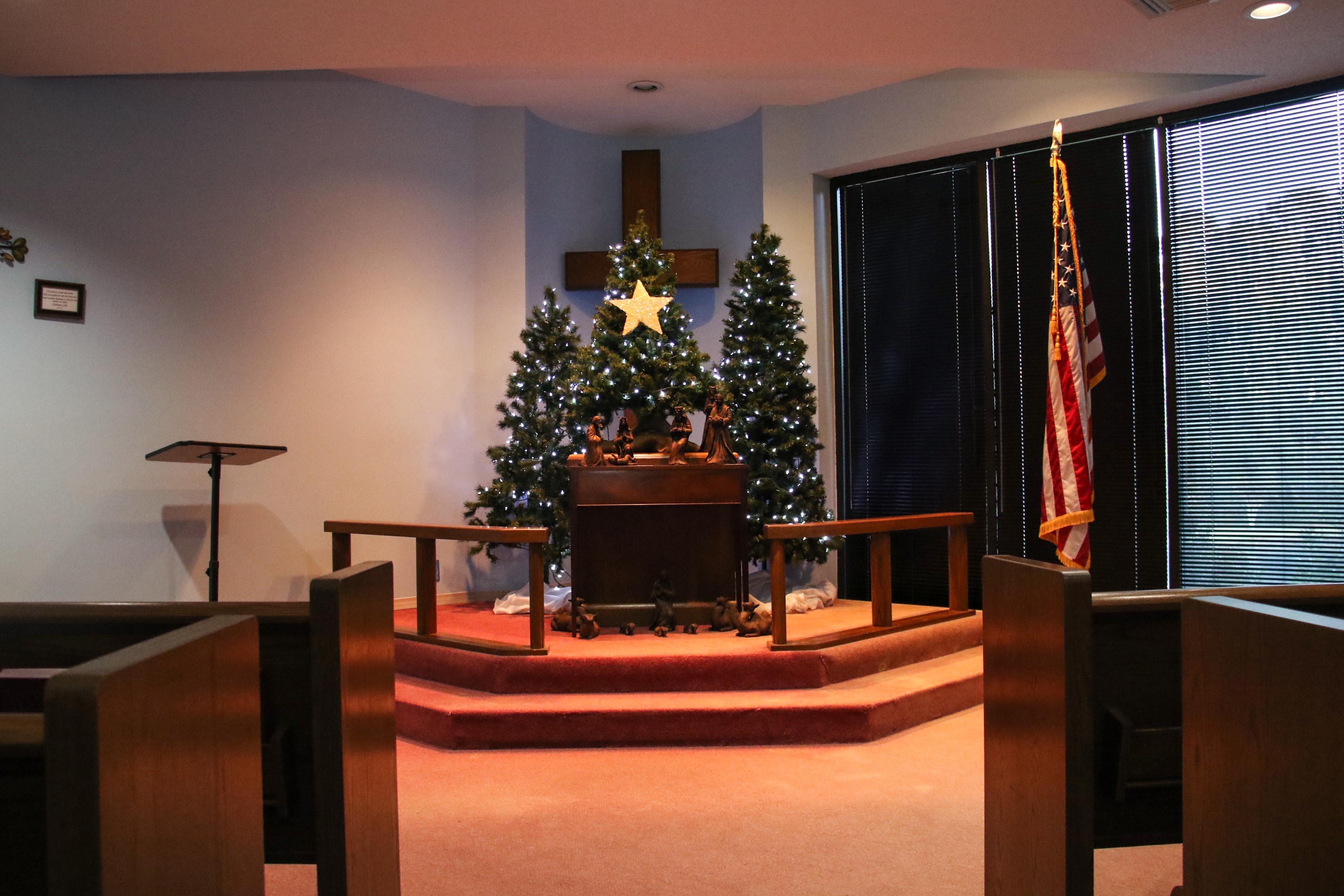 Richmond Hill - Chapel Christmas Tree (8004)