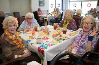 senior living food