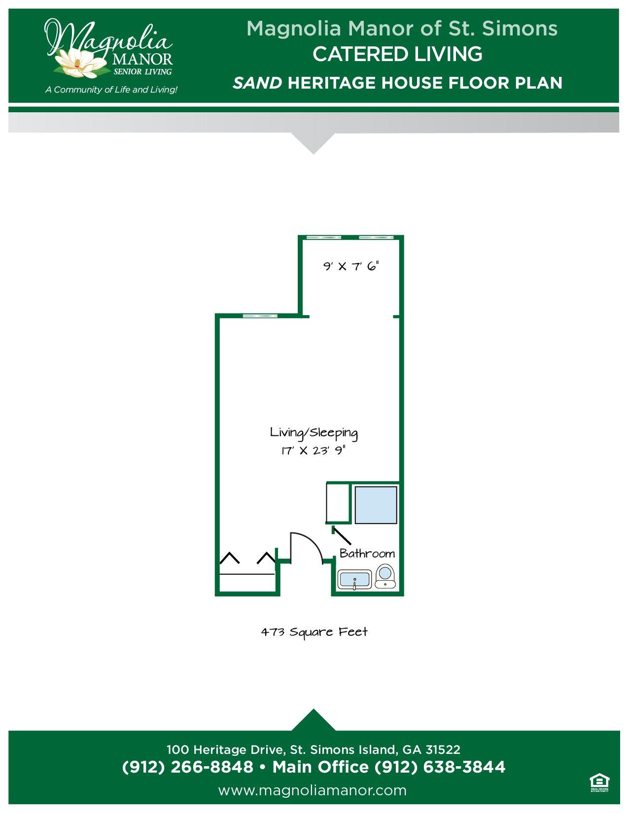00344 St Simons CC SAND Heritage House Floor Plans 2019-01