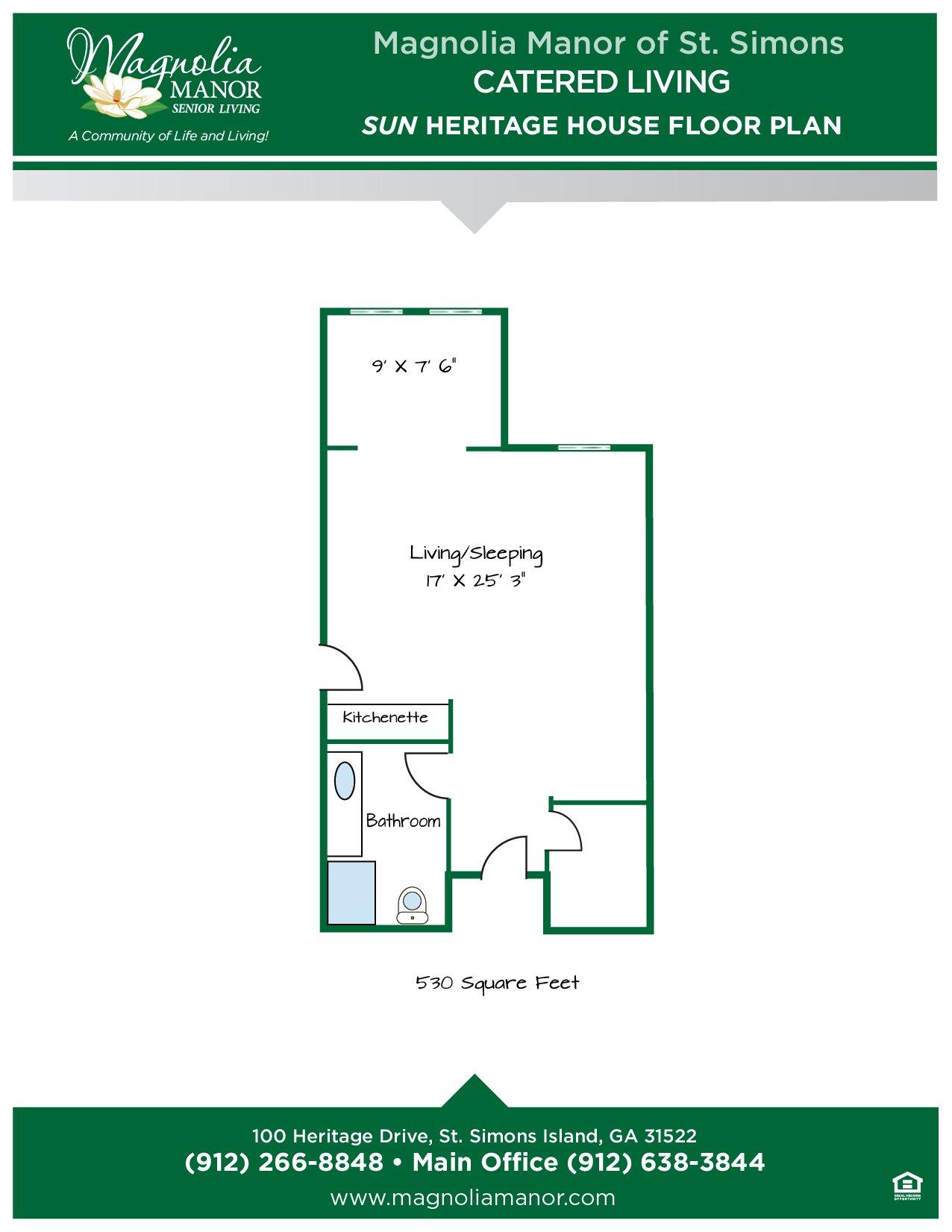 00344 St Simons CC SUN Heritage House Floor Plans 2019-01