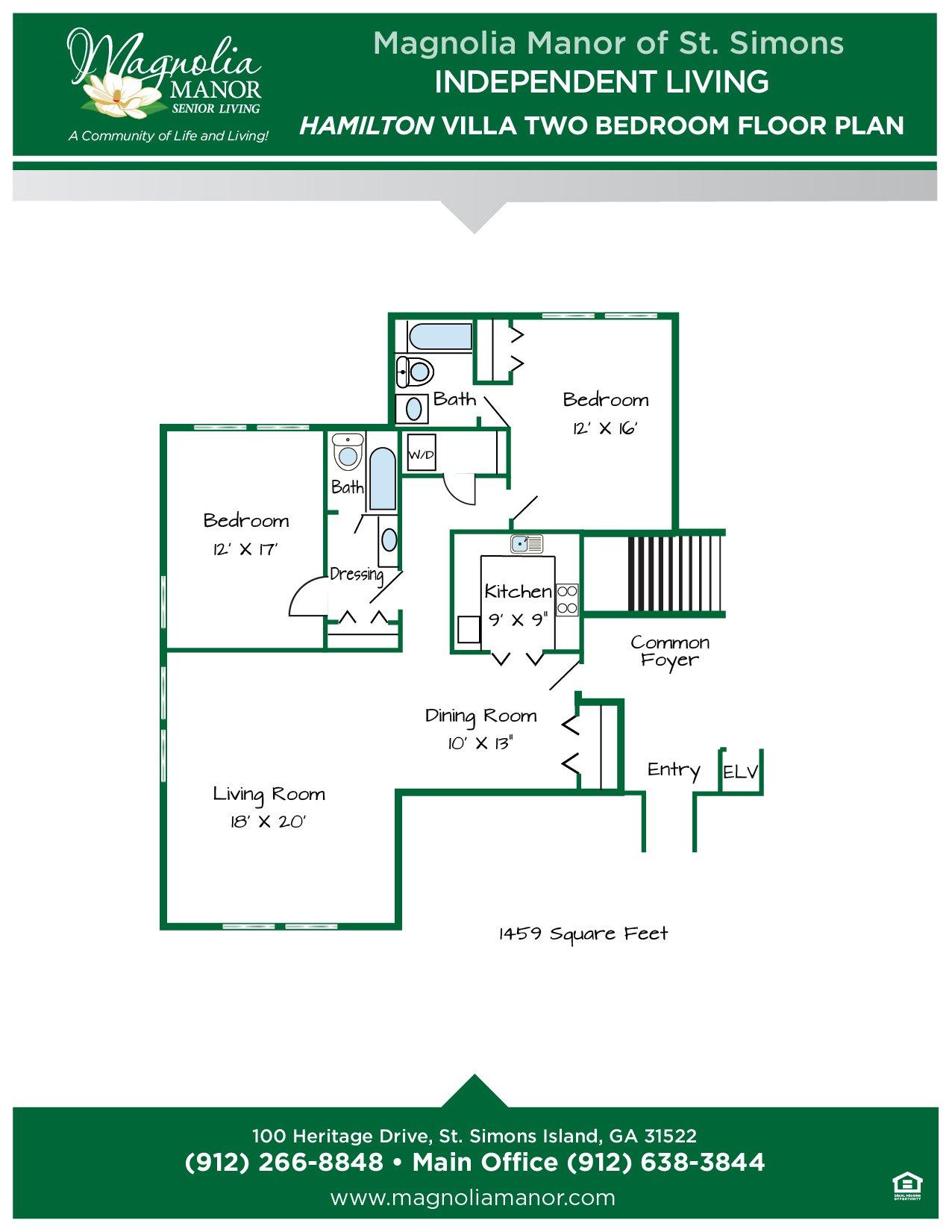 00344 St Simons IL HAMILTON VILLA Floor Plans 2019-01