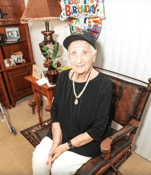 resident st mary 100 birthday
