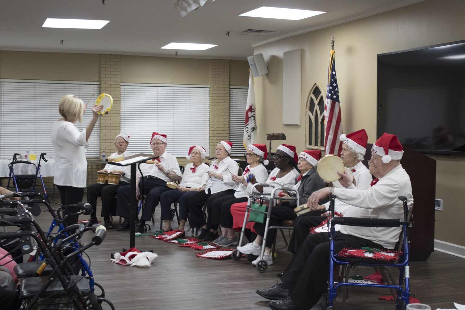 Moultrie Age Beaters Band Christmas Concert