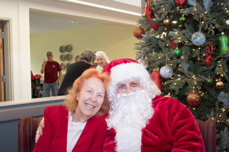 Santa Visits Americus