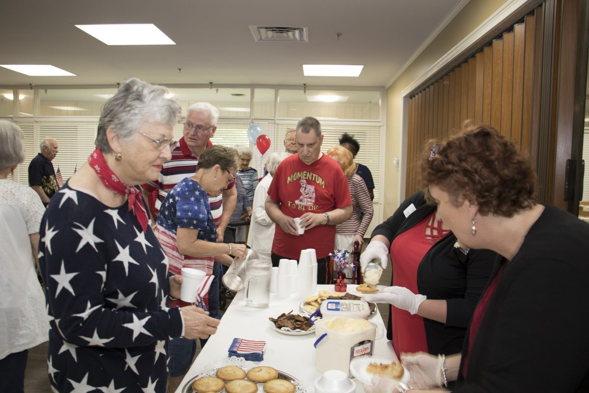 Americus Retirement Center Ice Cream Social