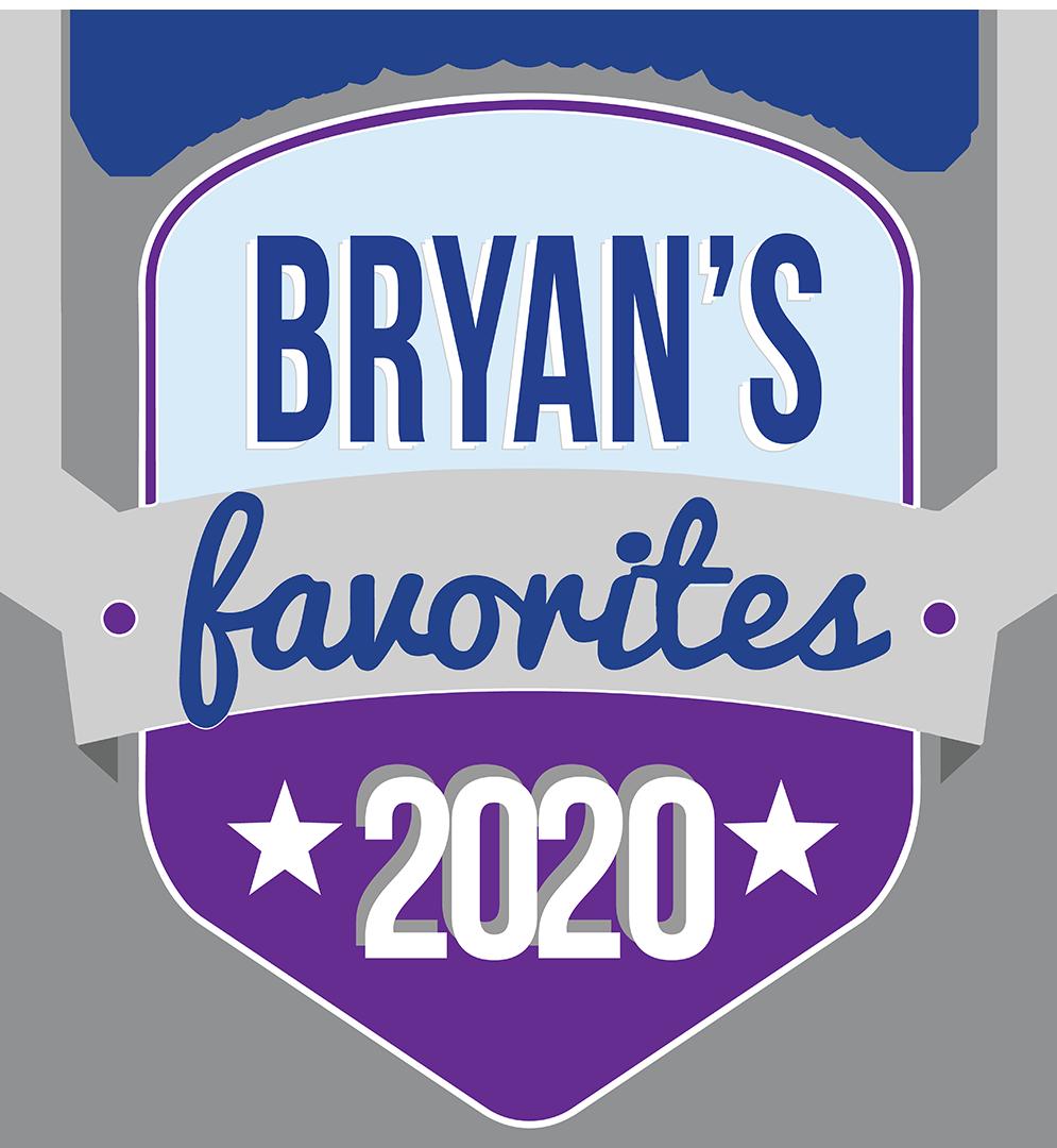 BRYANS faves 2020 logo (IG)