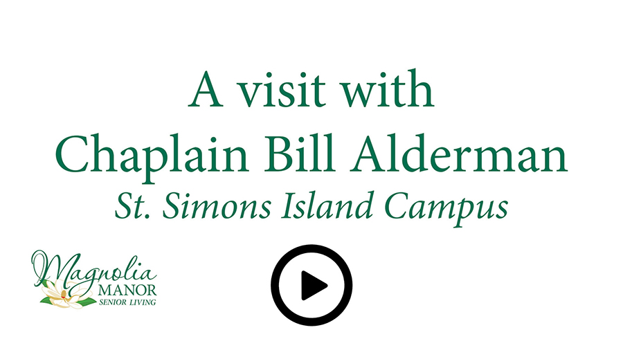 A Visit with Chaplain Bill Alderman