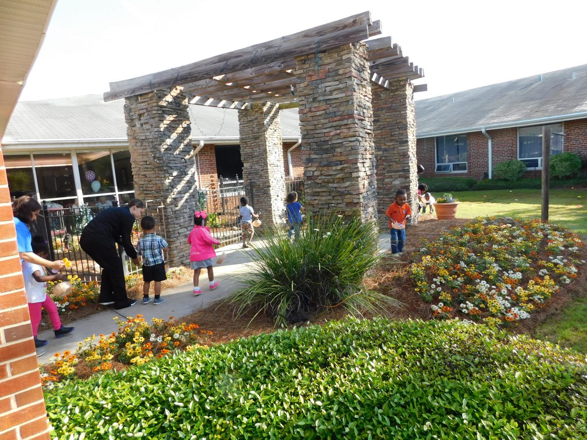 Americus Nursing Center Egg Hunt