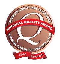 Recipient of 2016 Bronze Quality Awards