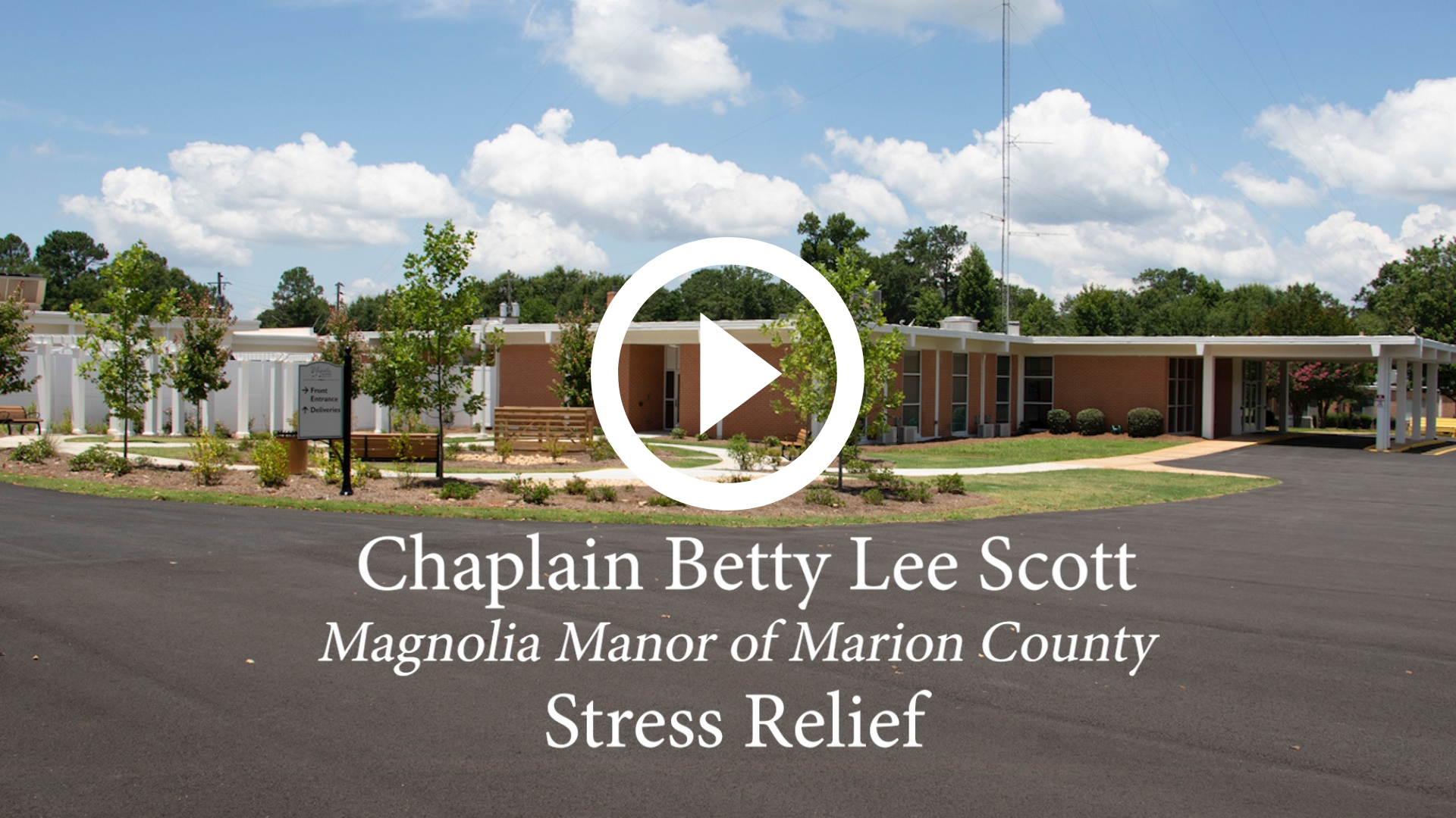 Chaplain Betty Lee Scott - Dealing with Stress